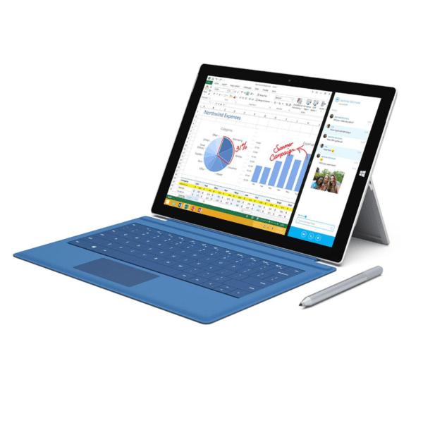 لپتاپ استوک Surface Pro3 i5 8 256 with pro 4 type cover